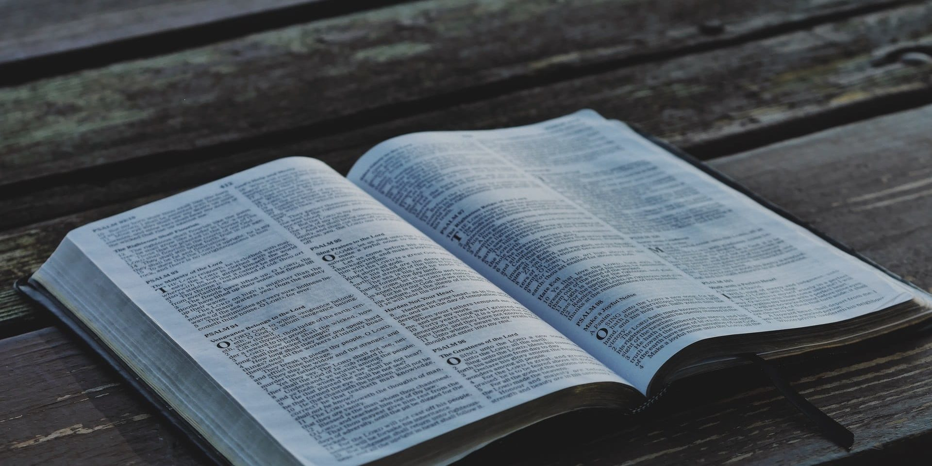 Wood and Bible
